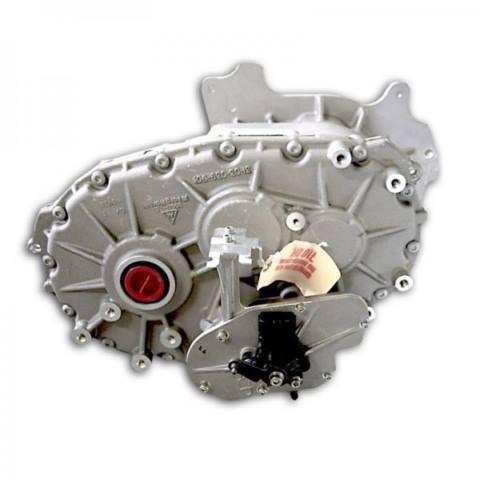گیربکس offset شرکت borg warner که دو چرخ محور را با یک موتور الکتریکی تغذیه می کند
