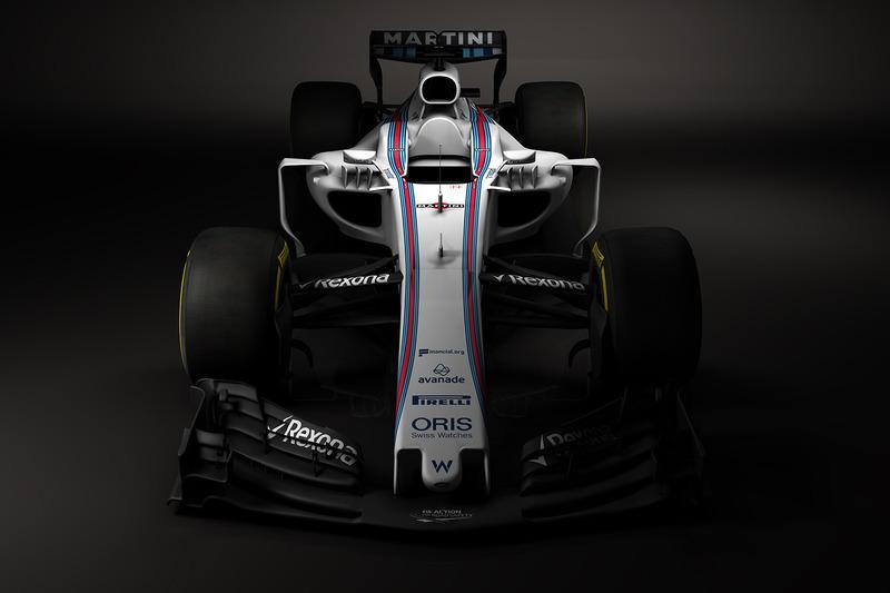 ماشین فرمول یک ویلیامز فصل 2017