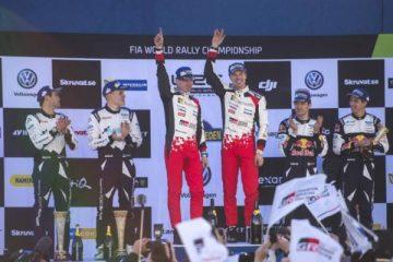 گری متی لاتوالا ، سباستین اوژیه و اوت تاناک - رالی قهرمانی جهان WRC سوئد 2017