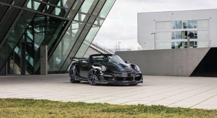 تک آرت پورشه GT Street R Cabrio