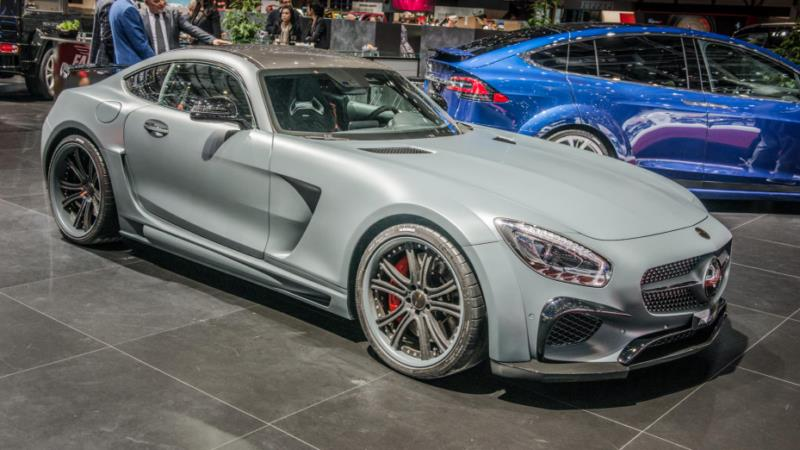 مرسدس بنز AMG GTS فاب دیزاین