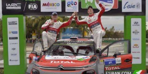 کریس میک پیروز رالی قهرمانی جهان WRC مکزیک 2017