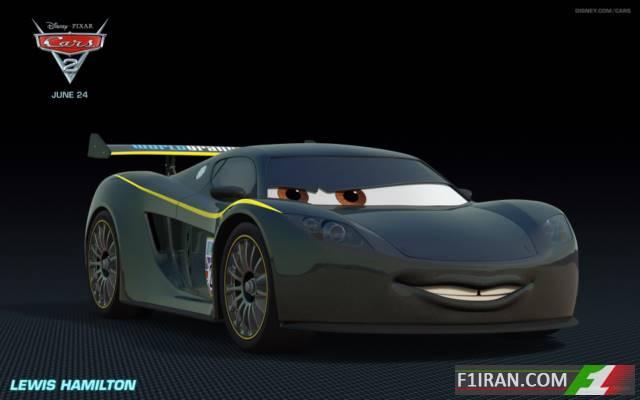 لوئیس همیلتون - انیمیشن ماشین ها 2