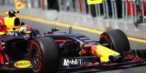 داکت دماغه خودرو ردبول RB13 - مکس ورشتپن استرالیا