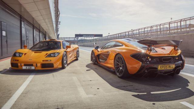 مکلارن F1 و P1
