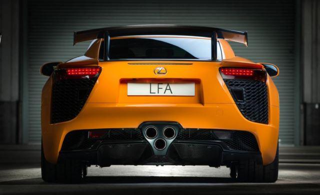لکسوس LFA نوربرگرینگ