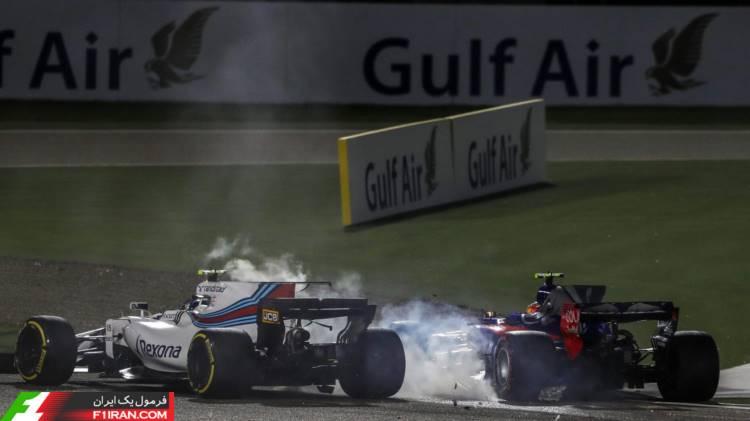 لنس استرول و کارلوس ساینز - گرندپری بحرین 2017