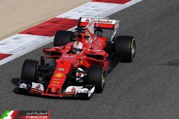 سباستین فتل - گرندپری بحرین 2017