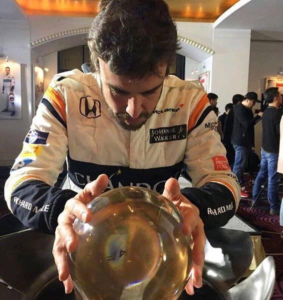 فرناندو آلونسو - گرندپری بحرین 2017