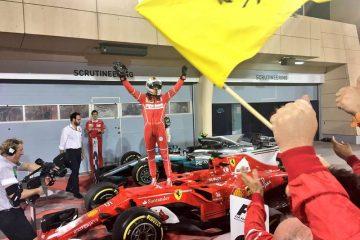 سباستین فتل در گرندپری بحرین