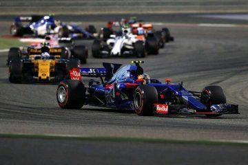 کارلوس ساینز و جولیون پالمر - گرندپری بحرین 2017