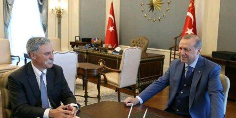 چیس کری و اردوغان
