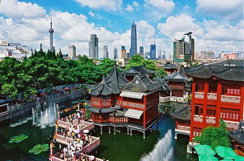 باغ یو در شانگهای