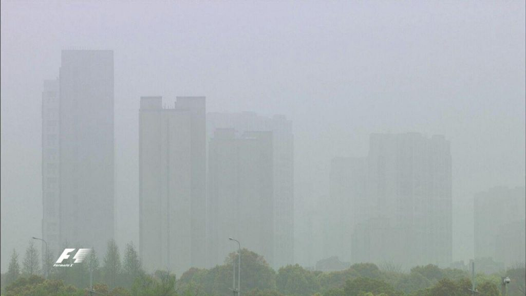 شرایط نامساعد هوا که باعث تاخیر در تمرین های امروز شد