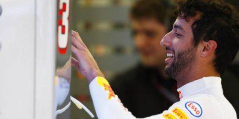 دنیل ریکاردو ، ردبول - بحرین 2017