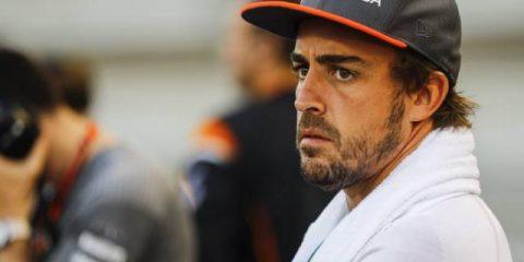 فرناندو آلونسو - مسابقه بحرین 2017
