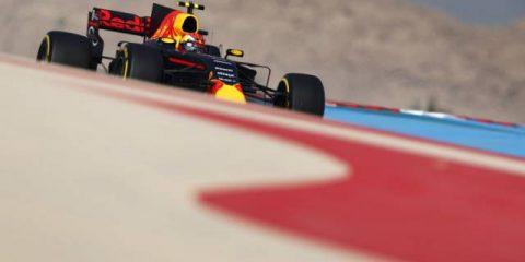 مکس ورشتپن - تمرین سوم فرمول یک بحرین 2017