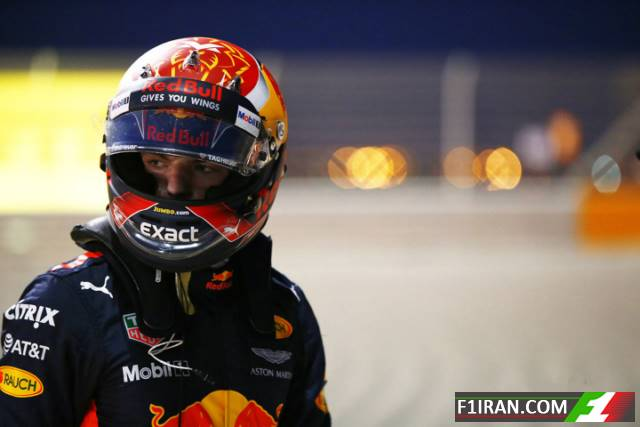 مکس ورشتپن ، ردبول - بحرین 2017