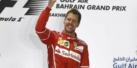 سباستین فتل - فرمول یک بحرین 2017