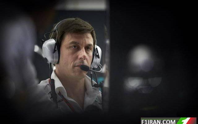 توتو ولف مدیر تیم مرسدس - فرمول یک بحرین 2017