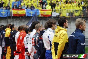 نواخته شدن سرود ملی چین ، گرندپری فرمول یک چین 2017 - رانندگان