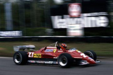 ژیل ویلنوو در فراری مدل ۱۹۸۲