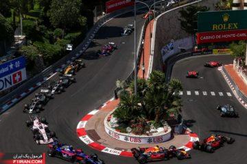 استارت مسابقه - گرندپری موناکو 2017