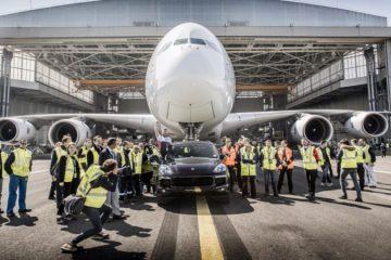 پورشه کاین S و ایرباس A380