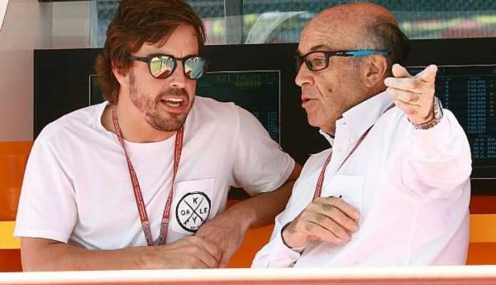 کارملو ازپلتا و فرناندو آلونسو