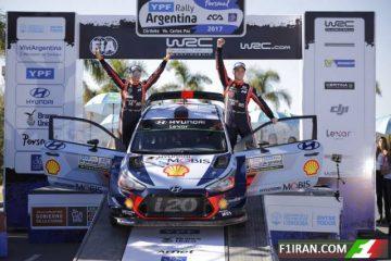 تیری نویل ، هیوندای - رالی قهرمانی جهان (WRC) آرژانتین 2017