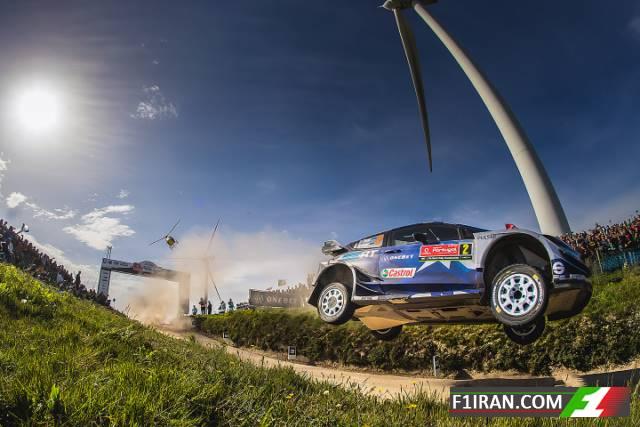 اوت تاناک - رالی قهرمانی جهان (WRC) پرتغال 2017