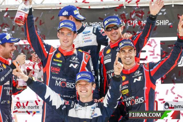 سباستین اوژیه ، تیری نویل و دنی سوردو - رالی قهرمانی جهان (WRC) پرتغال 2017