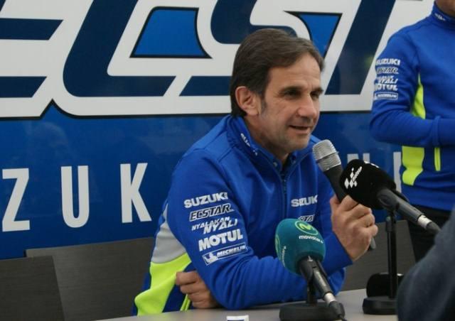 دیوید برایویو رئیس تیم سوزوکی