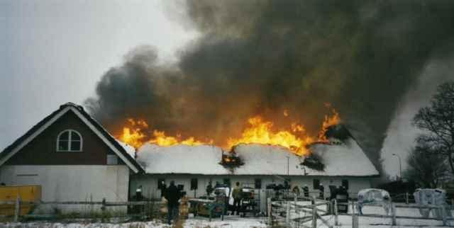 آتش سوزی کارخانهی قدیمی کونیخزگ