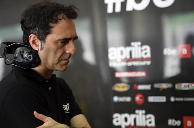 مدیر مسابقه ای آپریلیا رومانو آلبسیانو