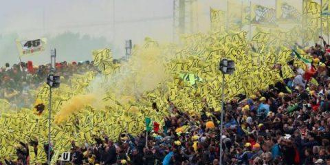 طرفداران ولنتینو روسی در موتوجی پی هلند 2017