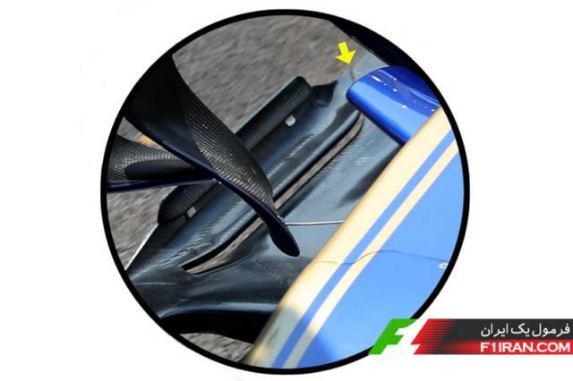 شکاف در کف خودرو سائوبر c36
