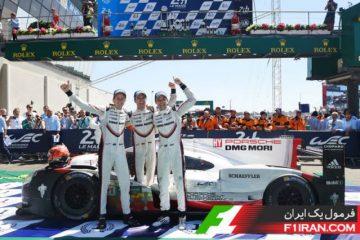 تیم خودرو #2 پورشه 919 هایبرید در لمانز 2017