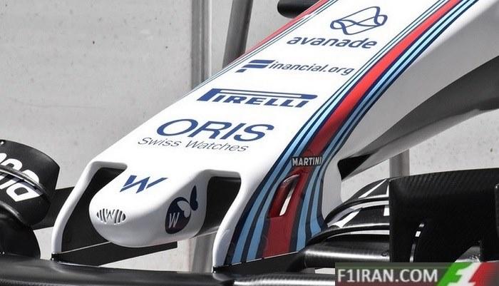 ماشین FW40 تیم ویلیامز