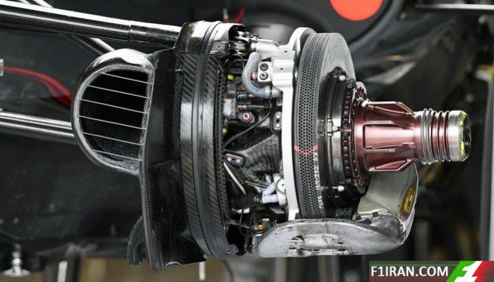 ماشین VF17 تیم هاس