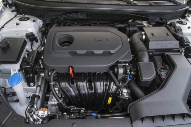 هیوندای سوناتا 2018 موتور 2.4 لیتری