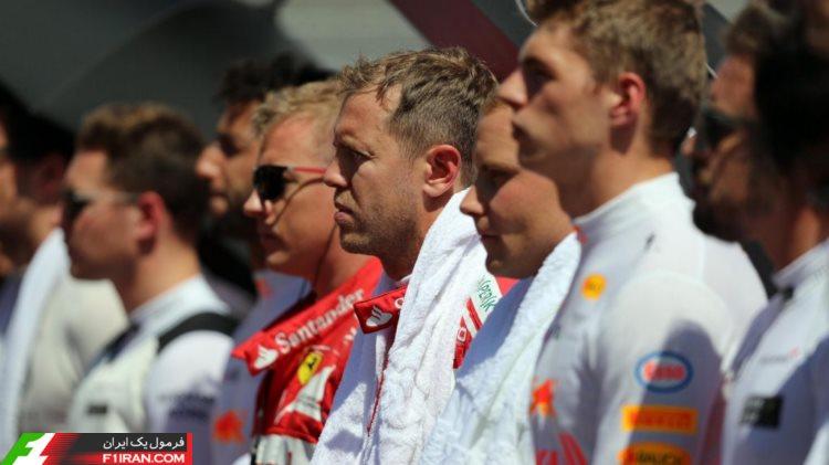 رانندگان - مسابقه گرندپری مجارستان 2017