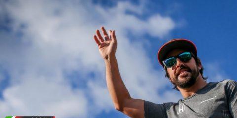 فرناندو آلونسو - پنجشنبه در گرندپری مجارستان 2017