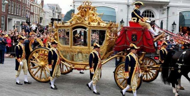 کالسکه سلطنتی هلند ، ساخته شده توسط اسپایکر