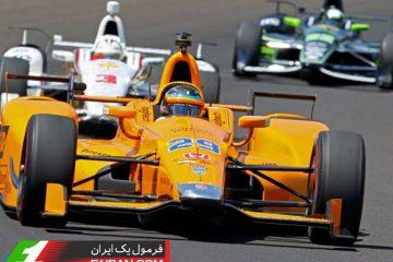 فرناندو آلونسو قهرمان فرمول یک در مسابقات ایندی کار و ایندی500