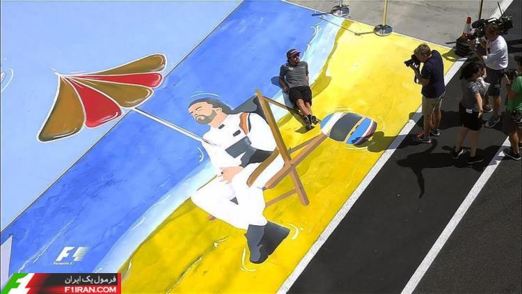 فرناندو آلونسو - مسابقه گرندپری مجارستان 2017