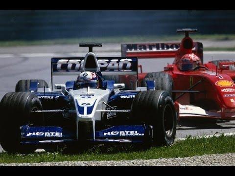 مایکل شوماخر و خوان پابلو مونتویا گرندپری 2001 اتریش