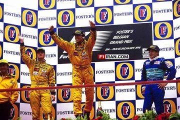 فول ریس نوستالژی - گرندپری بلژیک 1998