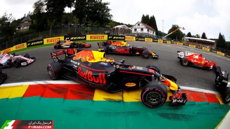مکس ورشپتن - مسابقه گرندپری بلژیک 2017