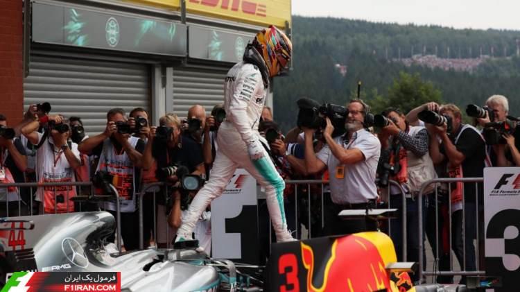 لوییس همیلتون - مسابقه گرندپری بلژیک 2017